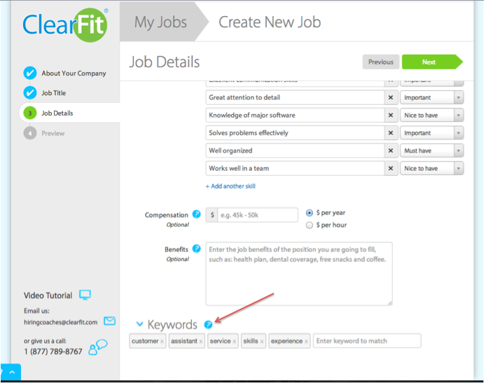 resume keyword tool take 2 we heard your feedback smoothhiring