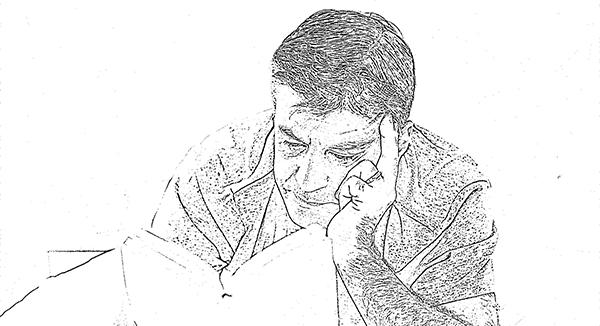 Man Reading 2